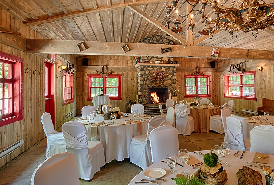 Reception & wedding - Auberge Handfield