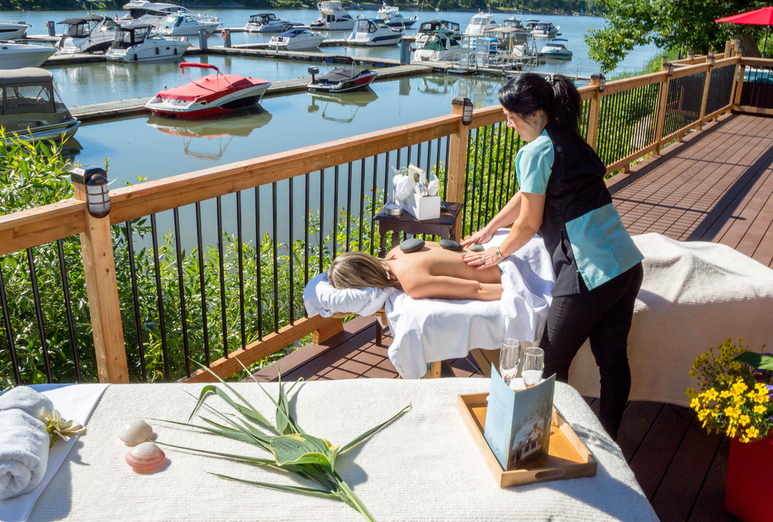 Spa Les Thermes- tous nos soins offerts - Auberge Handfield